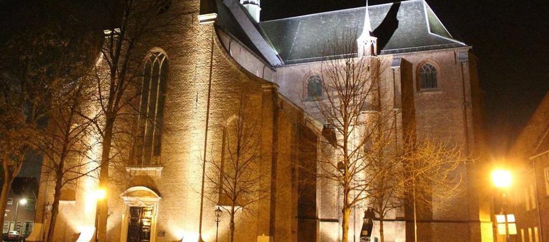 Grote-Kerk-Harderwijk bij nacht